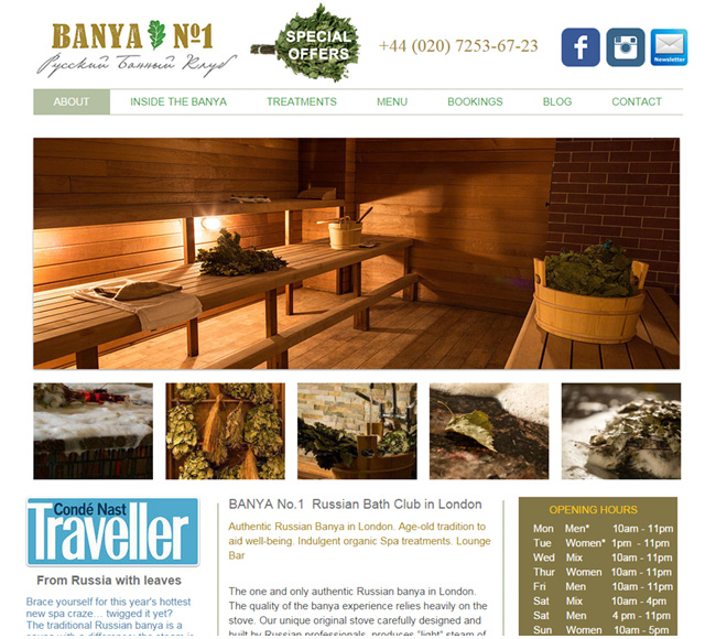 Banya - Russian Bath Club