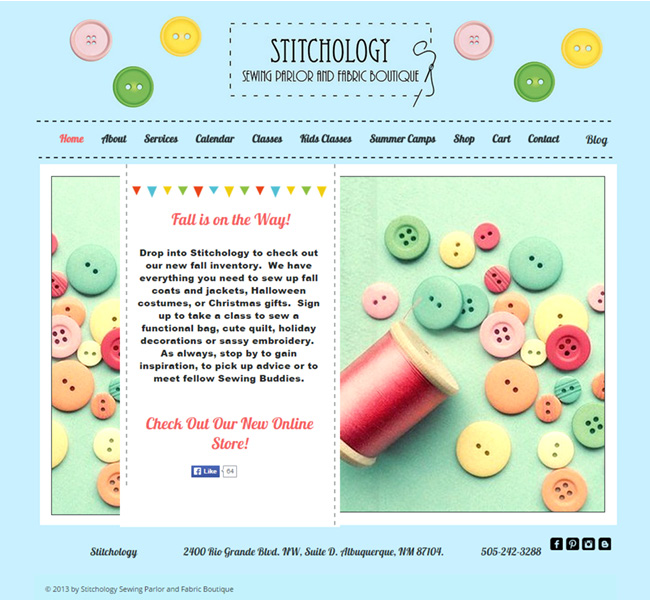 Stitchology - Sewing parlor and fabric boutique