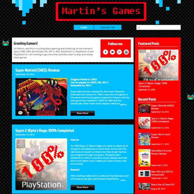 Martin's Games