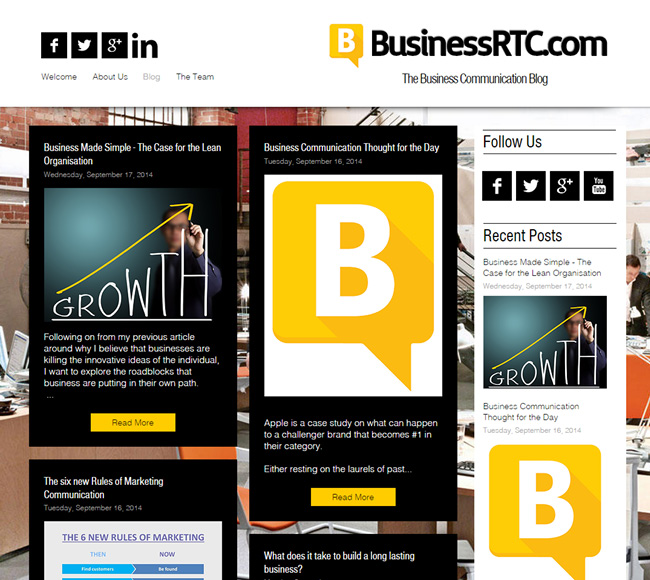 business rtc - Blogs On Design