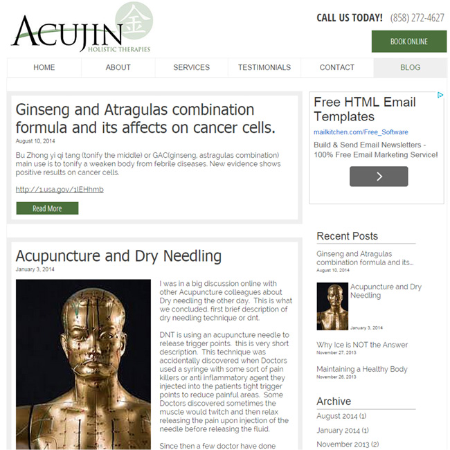 Acujin Holistic Therapies