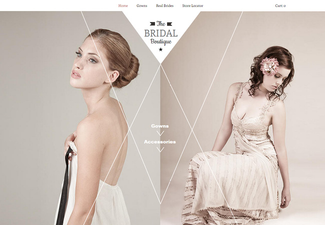 The Bridal Boutique Template