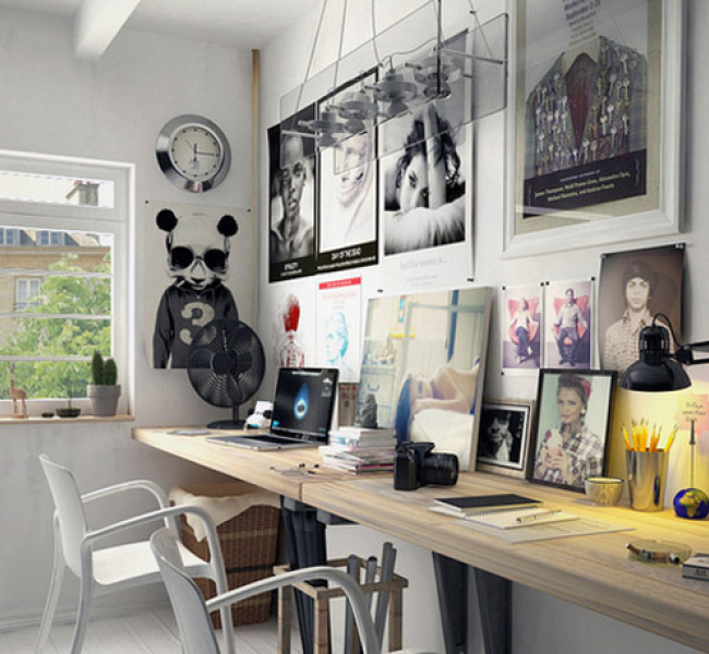 interior inspiration: creative setups for your home office