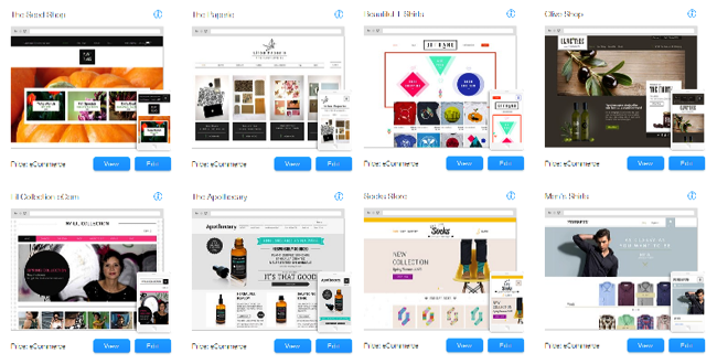 can i download wix templates - 8 tools to sell your goods services online