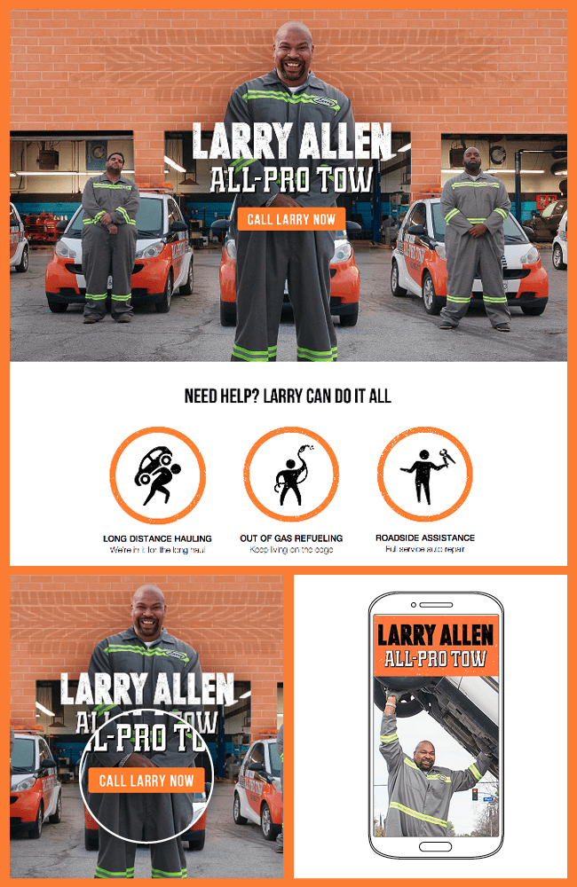 Larry Allen's All Pro Tow