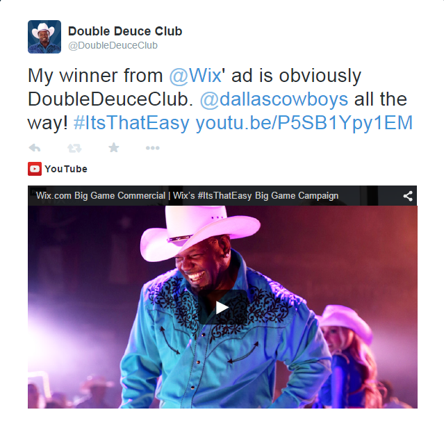 Double Decuce Club Contest Tweet copy