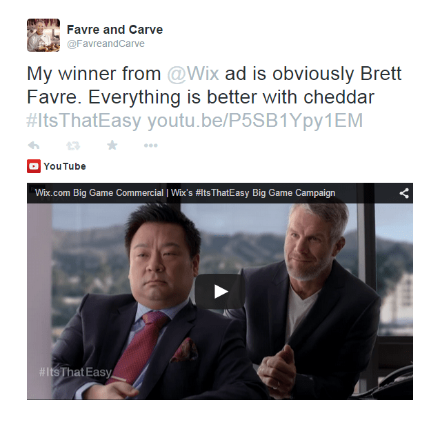 Brett Contest Tweet