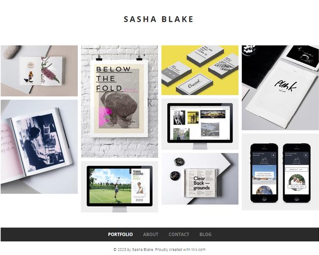 Minimal Designer Portfolio