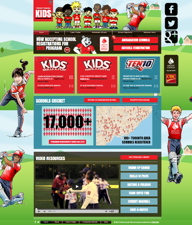 Cricket Canada Kids