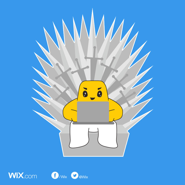 Wix Game of Thrones