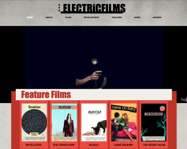 10 Beautiful Free Website Templates For Actors & Entertainers