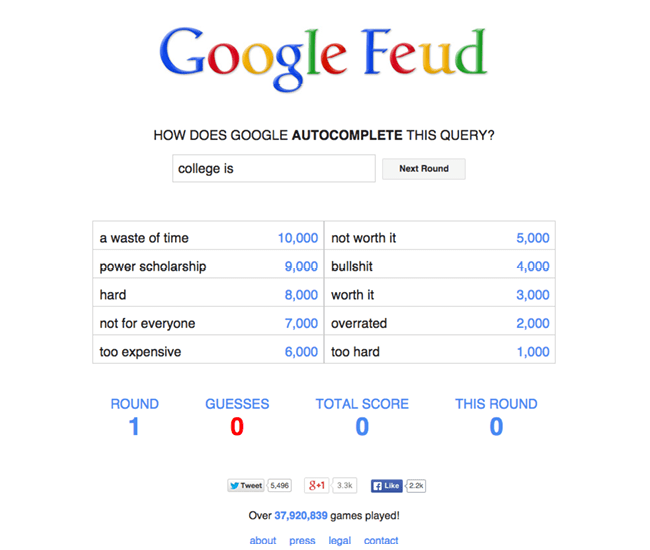Google Feud
