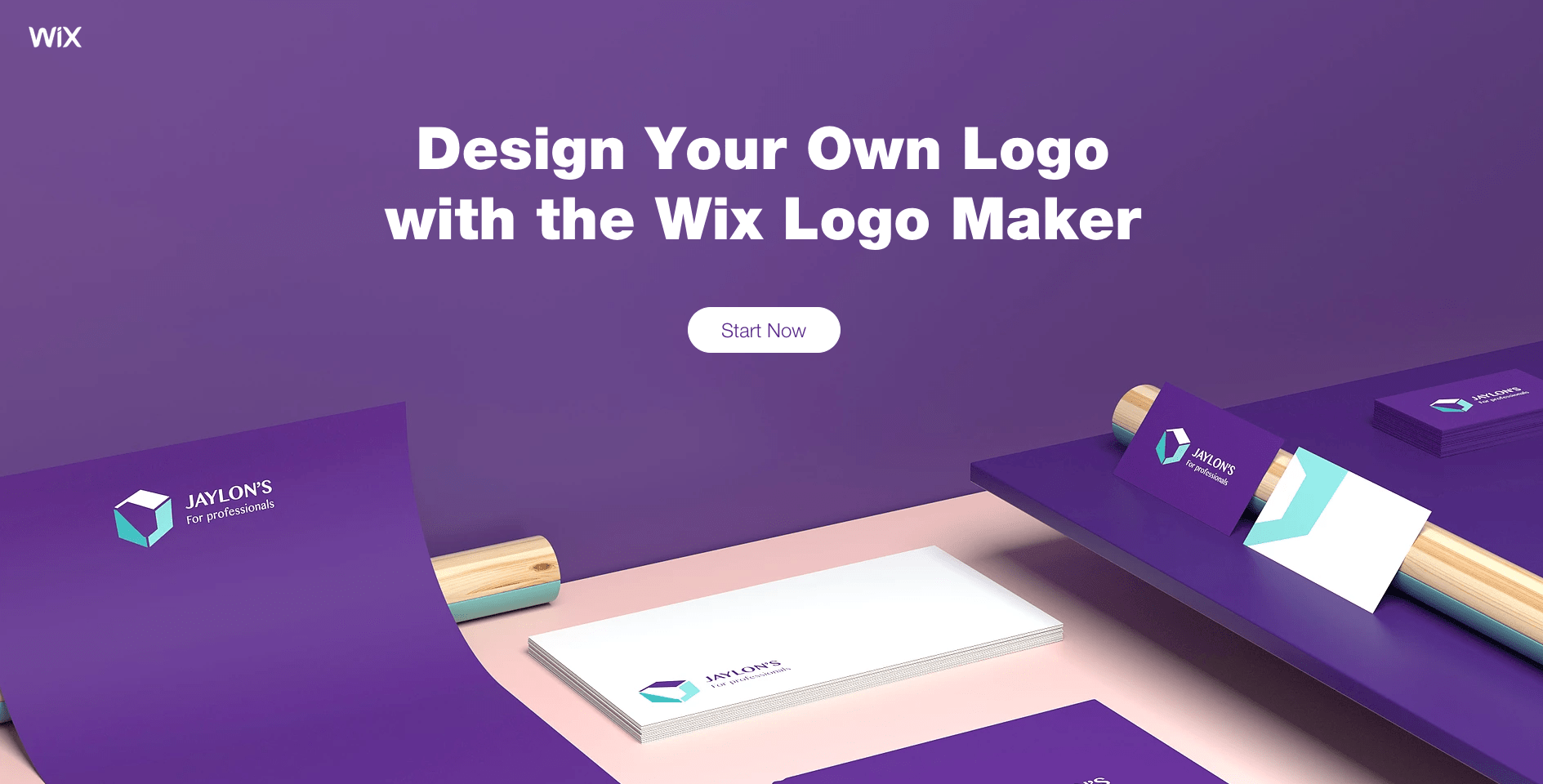 Create a logo with Wix
