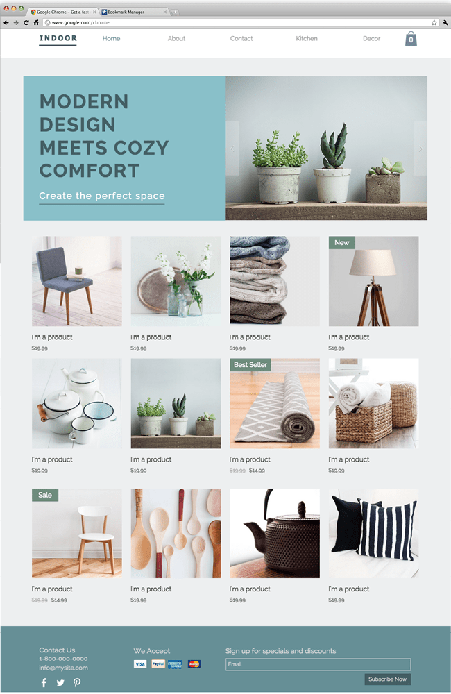 home design website. Home decor website 10 Free Creative Website Templates With Killer Design