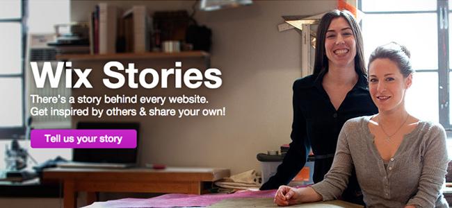 Wix Stories - Testimonials