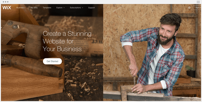 Wix for Business
