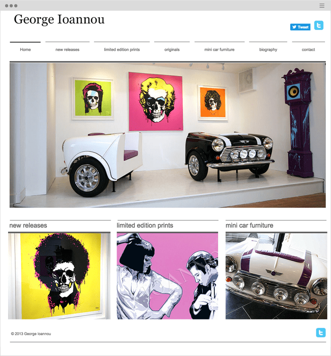 15 Magnificent Websites Created by Artists and Illustrators