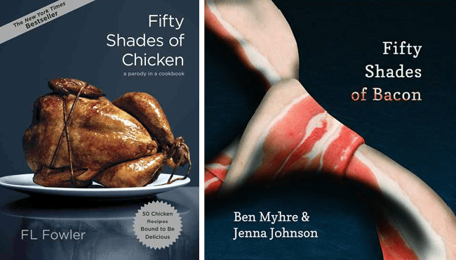 50 Shades of Chicken & 50 Shades of Bacon