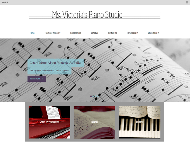 Ms Victoria Piano Studio
