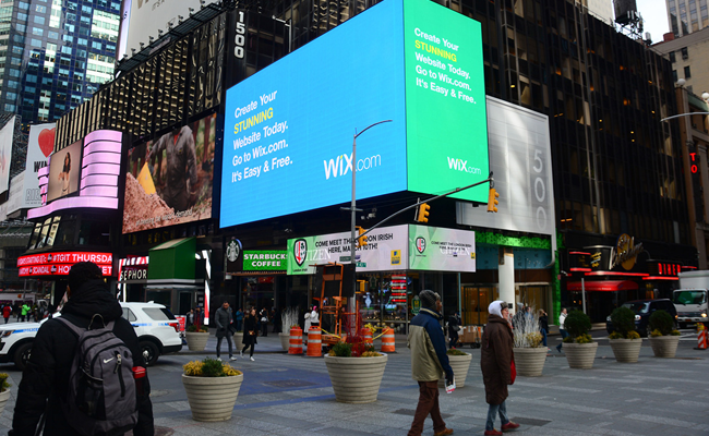 Wix's in Town! Join Our Billboard Contest to Win