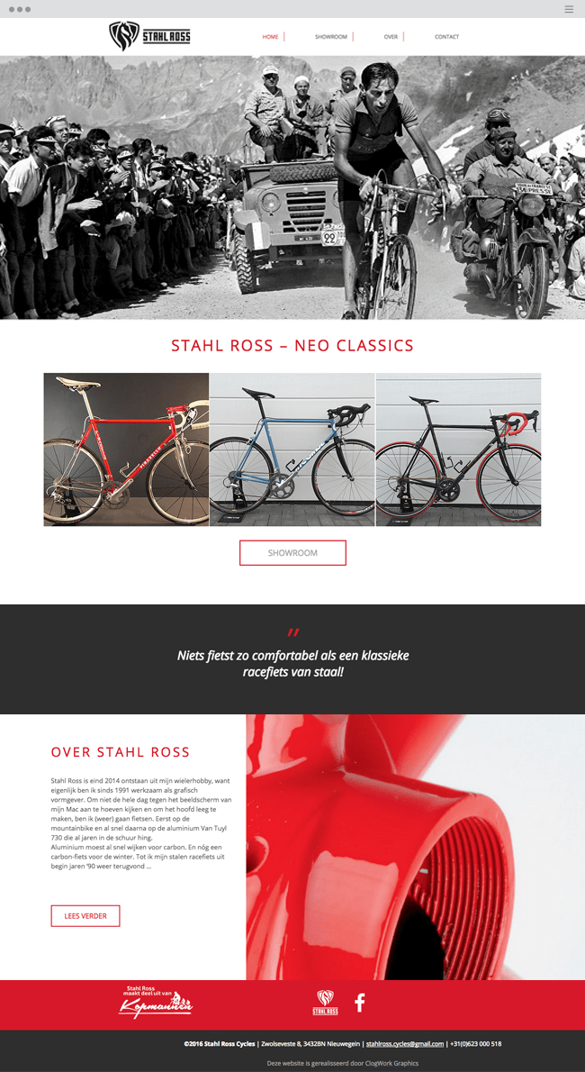 Stahl Ross Cycles Neo Classics_site