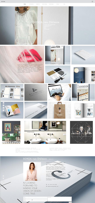 Wix website: Sonja Van Duelmen