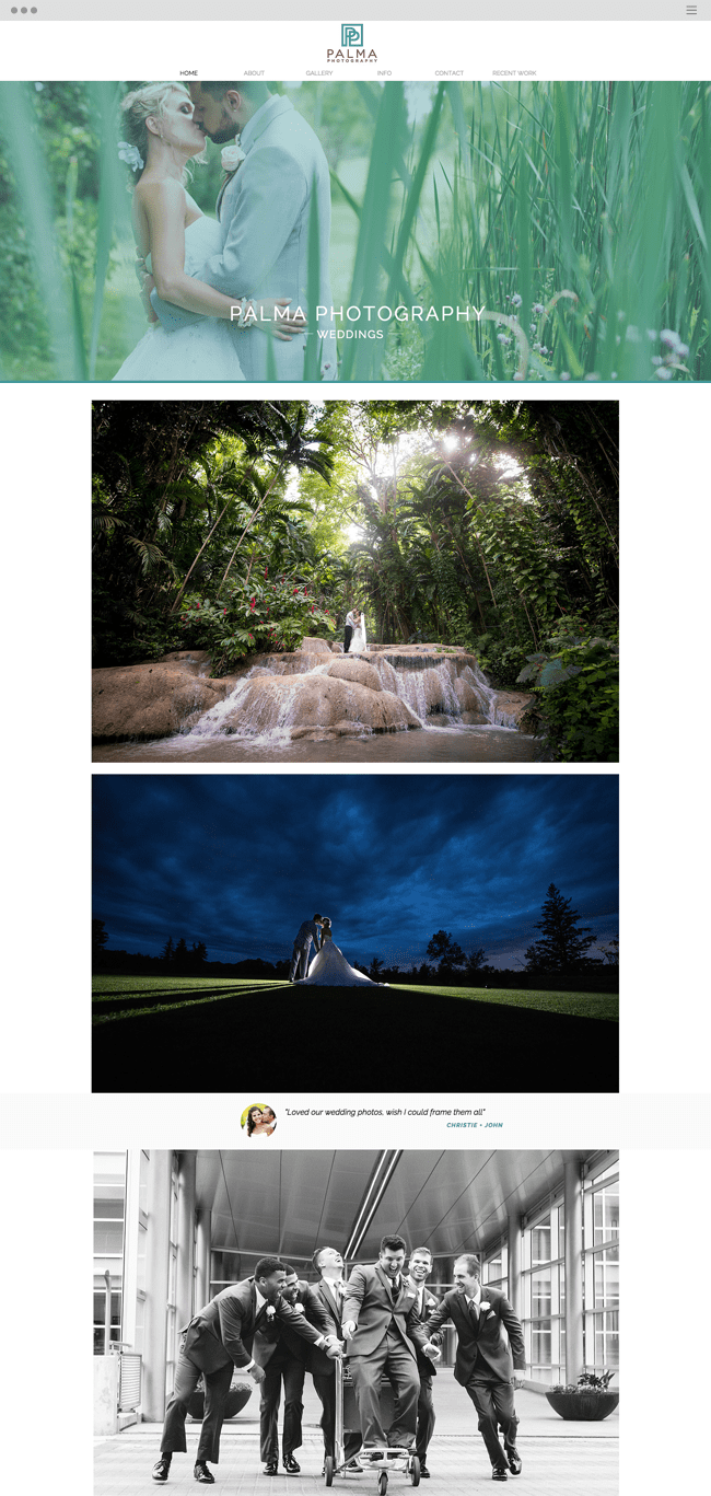 Palma Photography Weddings Home_image