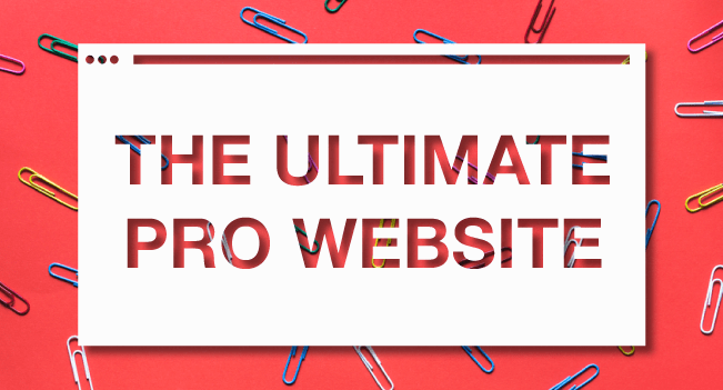 Success Hacker: How to Create the Ultimate Professional Website