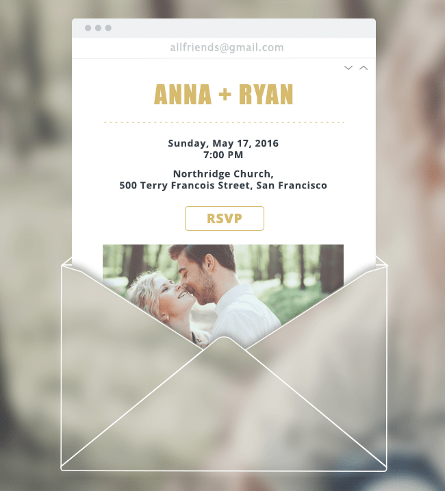 how to create a wedding website that wows your guests, Wedding invitations