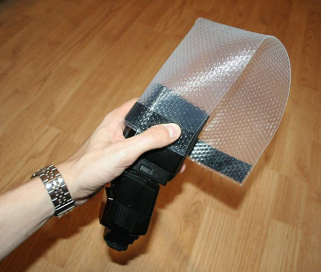 Bubble-wrap Lightsphere