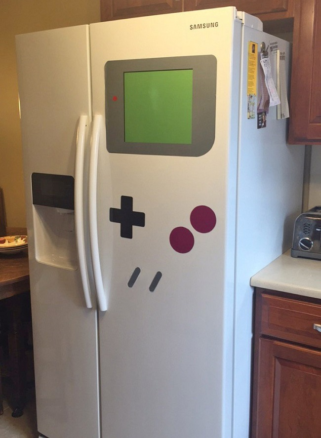 Gameboy Samsung Fridge