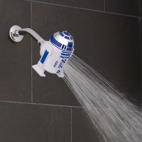 R2D2 Shower head