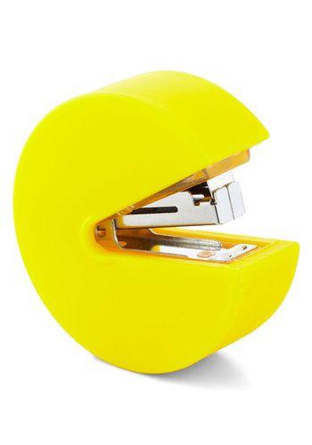 Pacman Stapler