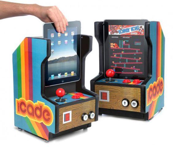 Arcade iPod dock