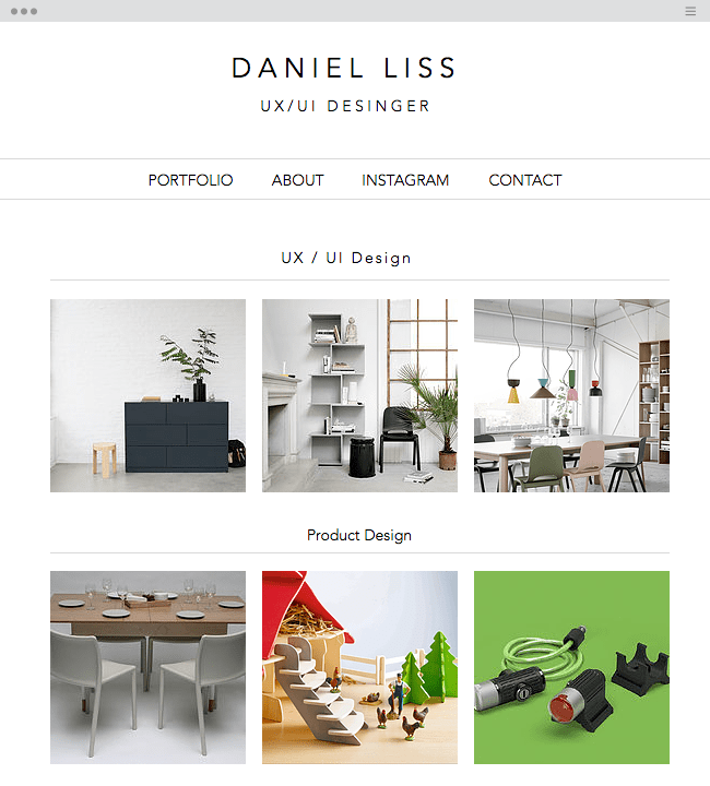 Amazing Portfolio Websites Created With Wix