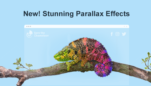 new parallax scrolling effects are here to beautify your website