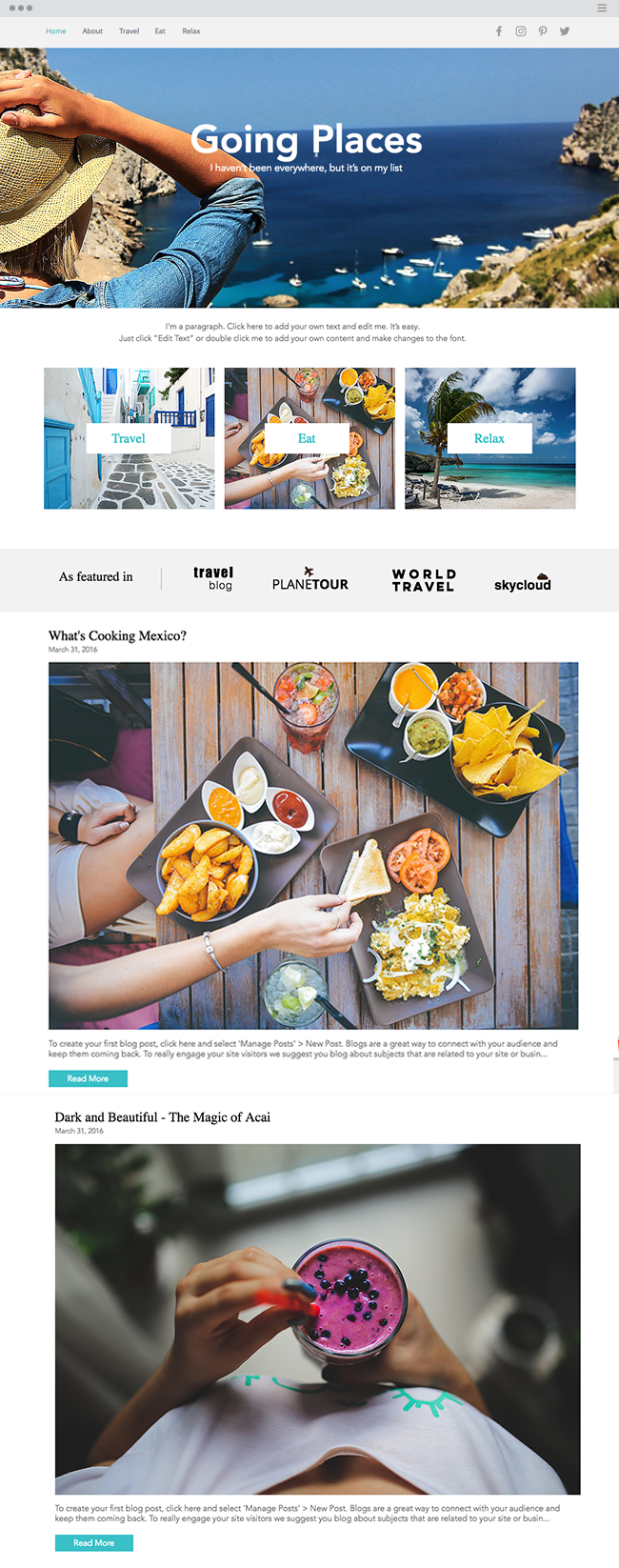 Traveler Blog Website Template _site