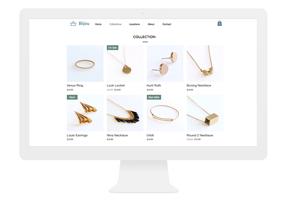 Wix eCommerce - Collection