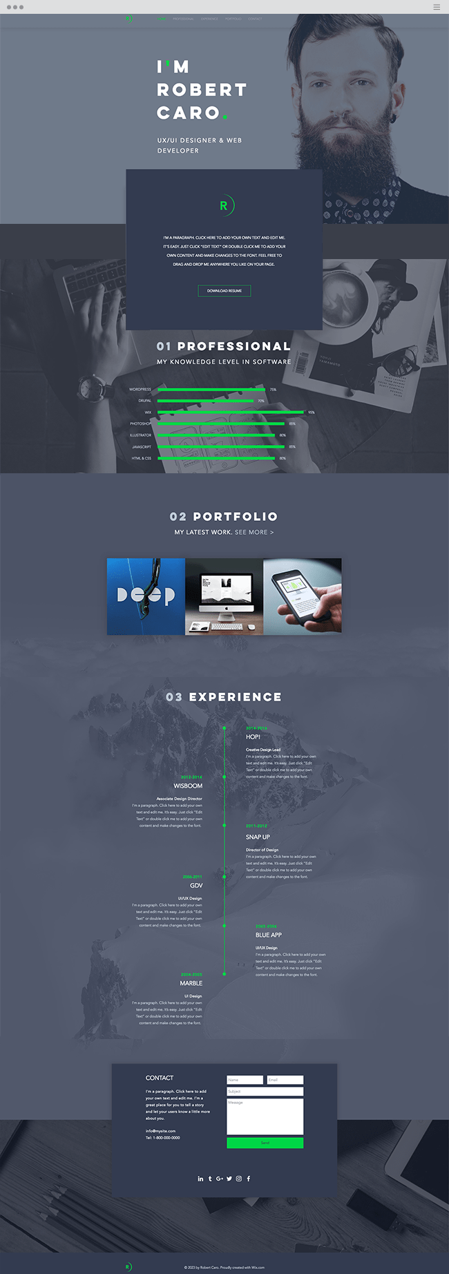 New Website Templates You Have To See