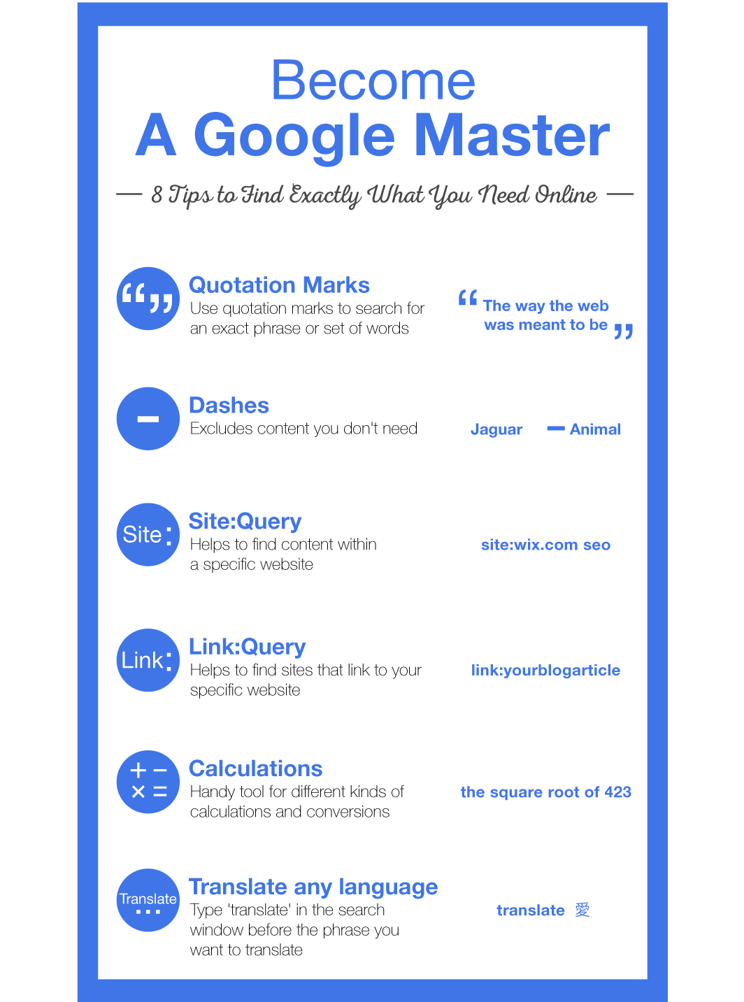 Become a Google Master – Find Exactly What You Need Online