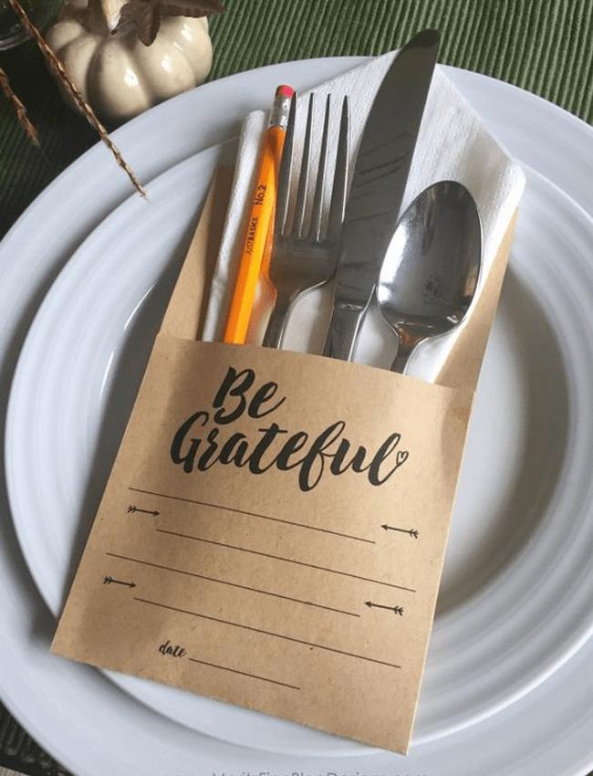 be gratful paper