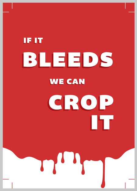 If it bleeds we can crop it