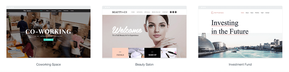 Wix Online Business Template