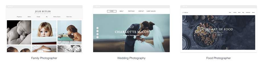 Wix Photography Template