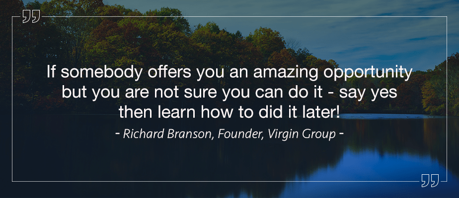 Richard Branson, Entrepreneur Quotes