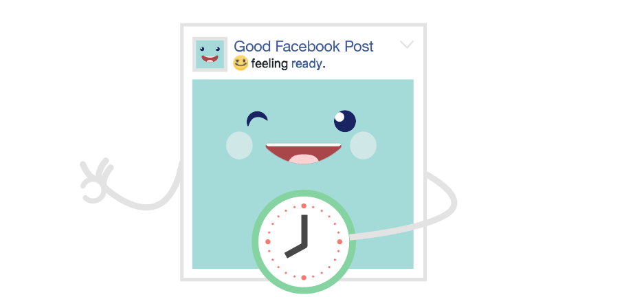 Facebook content optimization - Keep your posts on a tight schedule