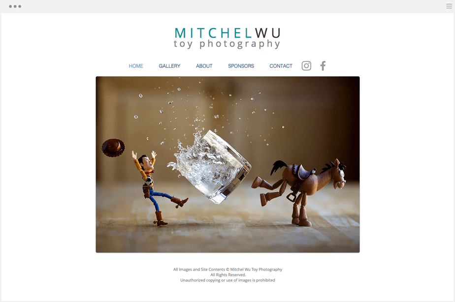 Mitchel Wu Photography Website