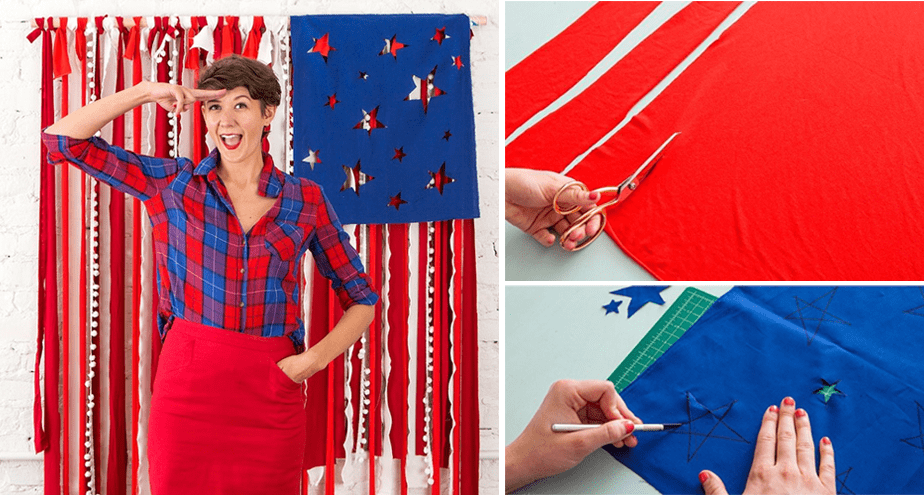 Photo Booth Backdrop for 4th of July