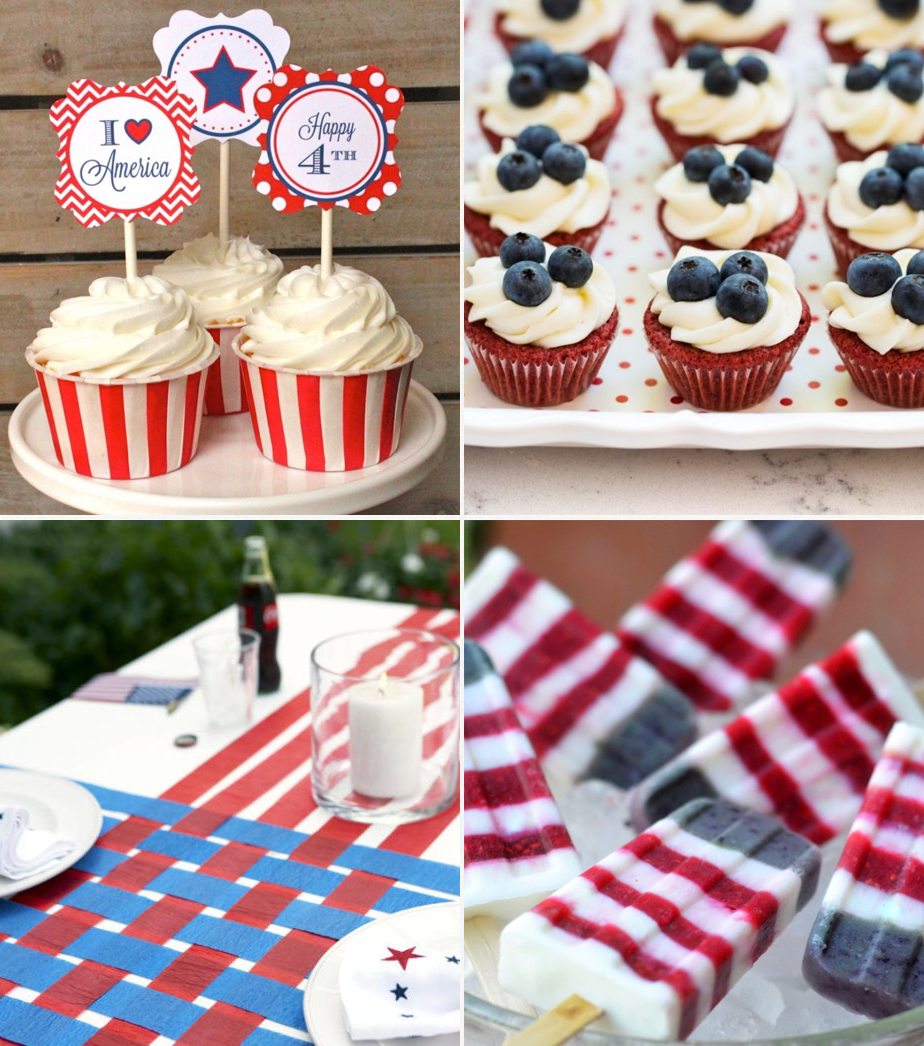 Red, White and Blue Ideas