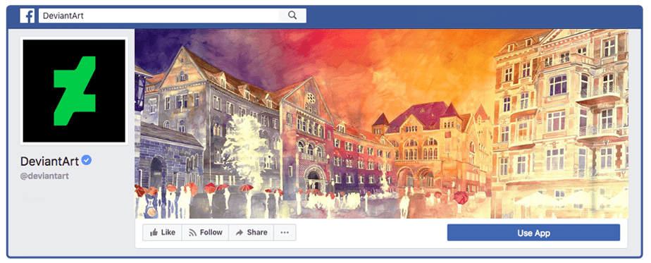 DeviantArt Facebook Cover Photo